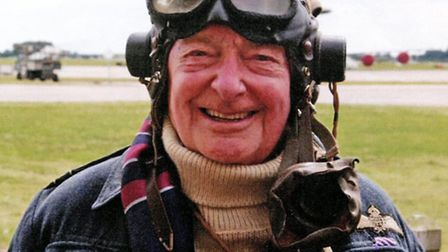Rusty, 93, at Coningsby in 2016
