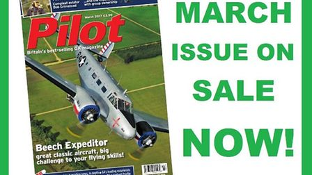Get the March issue of Pilot now!