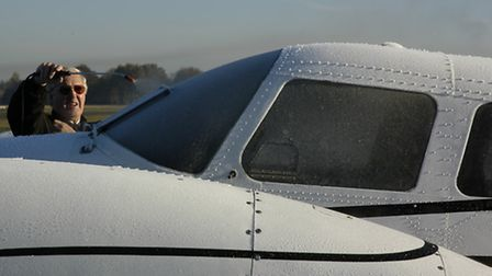 It's not going to fly well with this amount of frost