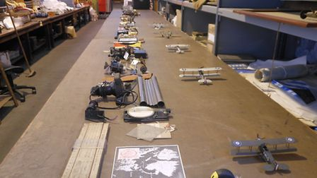 BEHIND THE SCENES: 100 OOBJECTS FOR 100 YEARS OF THE RAF