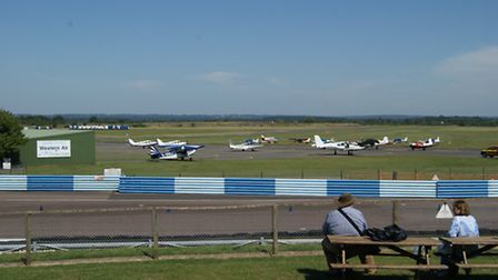 For fans of aeroplanes and fast cars