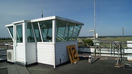 The Control Tower where an Air/Ground radio service is provided