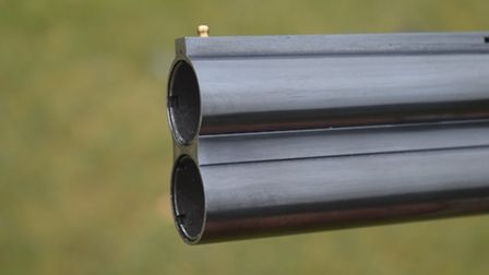 """C&H windsor game gun test The barrels of the Windsor are 30"""" long, nulti-choked, with 3"""" chambers a"""