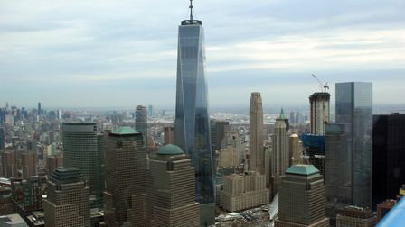 Passing abeam the recently completed Freedom Tower, sight of the original Twin Towers, one wonders h