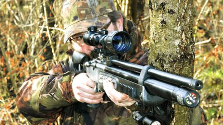 This is a proper hunting rifle that can take the rough handling in the field