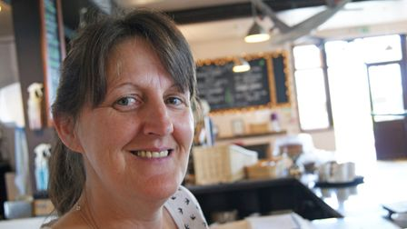 Julie Gilmour, who took over as restaurant manager a year ago