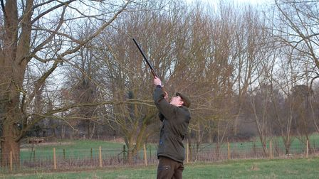 The shoot produced some quality birds, with plenty of high flying pheasants