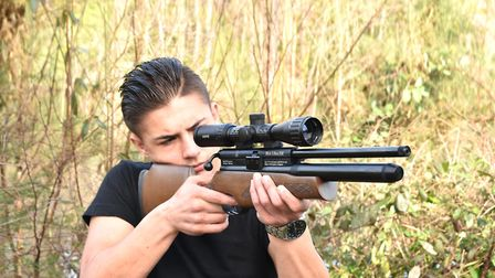 Being able to hold your rifle comfortably is vital to learning and fun