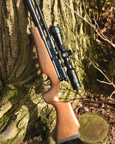 Beyond the performance, it's a great looking rifle as well