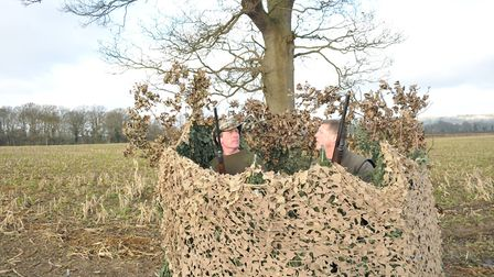 ssh april pigeons Gary and Andy are used to sharing a hide but you need trust, understanding and