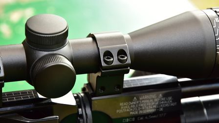 Hawke's own Match Ring Mounts suited the scope well.