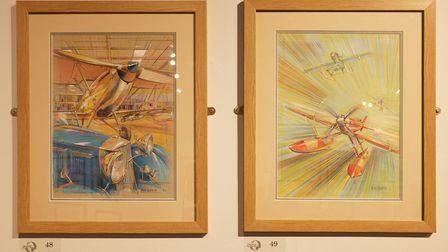 Displayed at last years GAvA Summer Exhibition, works by David Calow