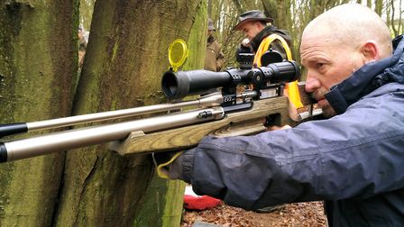 Chris Roberts is another organiser for the Southern's and with his EV-2 a fearsome competitor