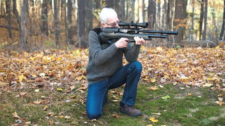 Stephen gets to grips with a UK import, in the distinctive shape of the Air Arms Galahad.