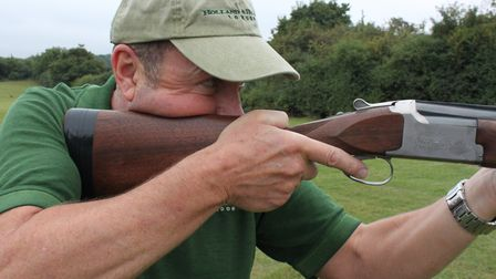 Starting with the gun pre-mounted can help on fast birds and eliminates errors in a hasty gunmount.