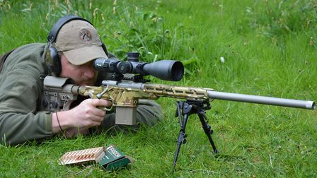 1. Howa Chassis Rifle (HCR) in 308 Winchester