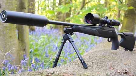 18.Sauer 404 with full Flexpro bipod system shown standing ready for any pan and tilt required to ke