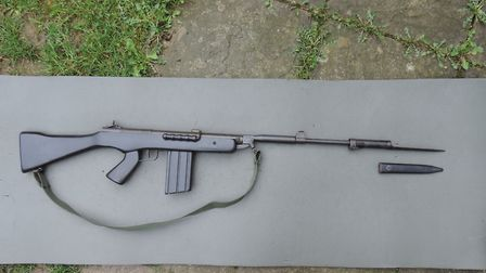 The Rossi EB79 has seen almost 40 years of service with the Brazilian army