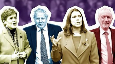 Candidates featured on the BBC's Question Time special, featuring Nicola Sturgeon, Boris Johnson, Jo