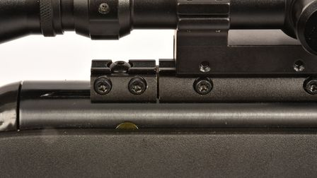 The RRR system is intended to tame the mighty recoil.