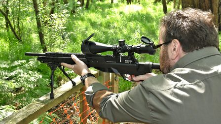 The handling is quite unlike any other airgun I've tried