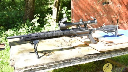 If tactacal guns are your thing, you really need to see one of these