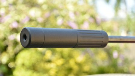 A silencer is included and takes some of the credit for such a quiet rifle