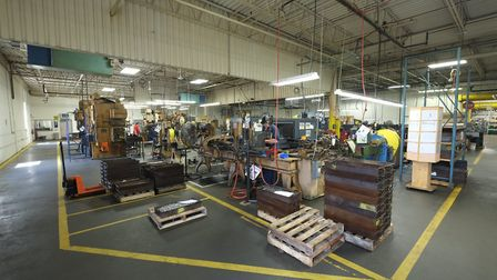 Another overview of the Crosman assembly floor