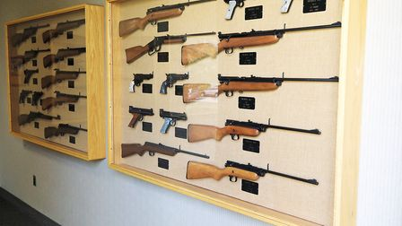 The Crosman museum is a treasure trove of samples of every airgun manfactured in the company's histo