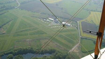 Typically, small airfields (Derby illustrated) would find radar service unviable – but ADS-B may off