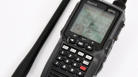 CAA funding extends to 20% of the cost of handhelds like this Yaesu FTA-750L transceiver