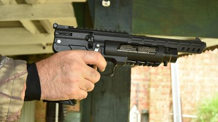 I'd like to meet the person who can outshoot this pistol.