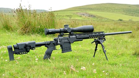 2.Remington 700 in AB Arms MOD X Gen III Chassis