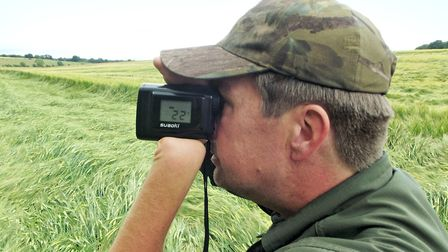 By checking distances back to my hide I know my holdover for each area