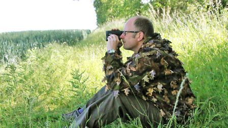 Ensure that your hide is within accurate shooting range of your quarry
