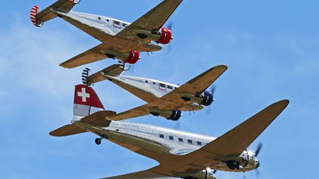 Classic Formation's Beech 18s