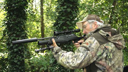 Nope - that bipod will come off for the follow-up test