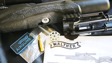 Charging, loading and basic instruction, all taken care of by Walther.