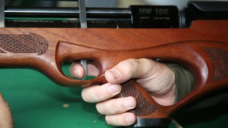 Every shooter that tried the B.A.R. conversion was seriously impressed by its trigger setup.