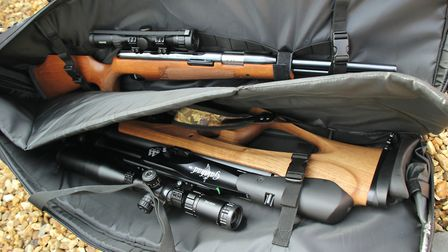 Full-length or bullpup-style rifles will fit in with ease