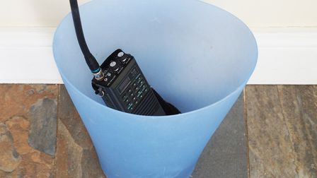 PHOTO: PHILIP WHITEMAN - Bin your old 25kHz radio and get a 50 rebate on a new Icom 8.33 handheld
