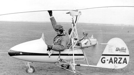 David Hastings about to get airborne at Swanton Morley