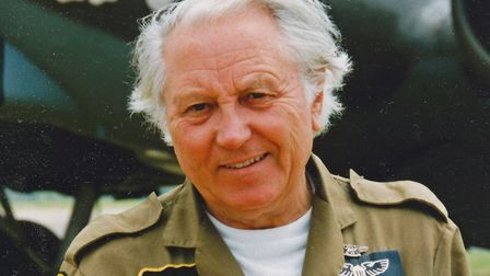 PHOTO: PETER R MARCH - Keith Sissons in his prime, as many fellow pilots and aviation enthusiasts w