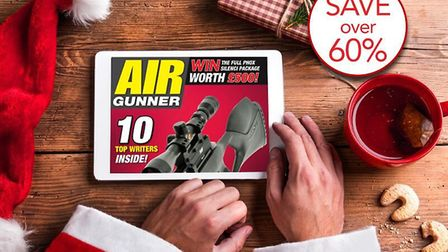 Treat yourself to a digital subscription of Air Gunner this Christmas