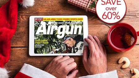 Treat yourself to a digital subscription of Airgun World this Christmas