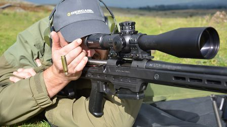 rsh nov gun test 10.Plenty of space for the bolt handle around a suitably large optic with plentiful