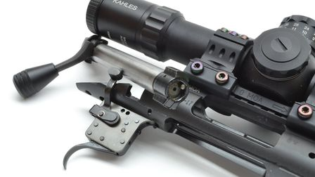 rsh nov gun test 5. Twin lug bolts are beautifully simple with a 90-degree lift that requires less