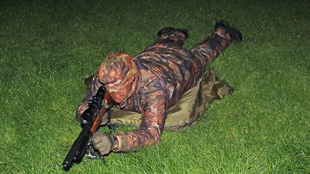 Lying in a field on wet grass and damp ground can be made more comfortable with a waterproof mat