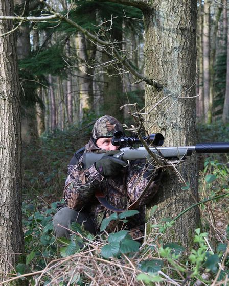 rsh interview nov Good fieldcraft is essential for successful hunting