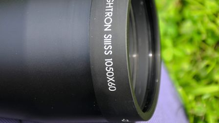 The 60mm objective makes a statement